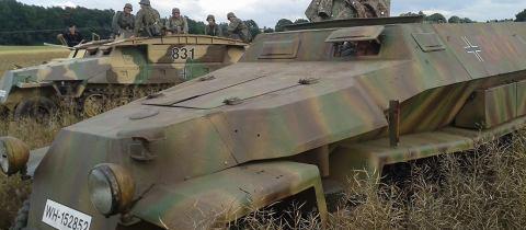 Sdkfz 251/6 Kommandopanzerwagen